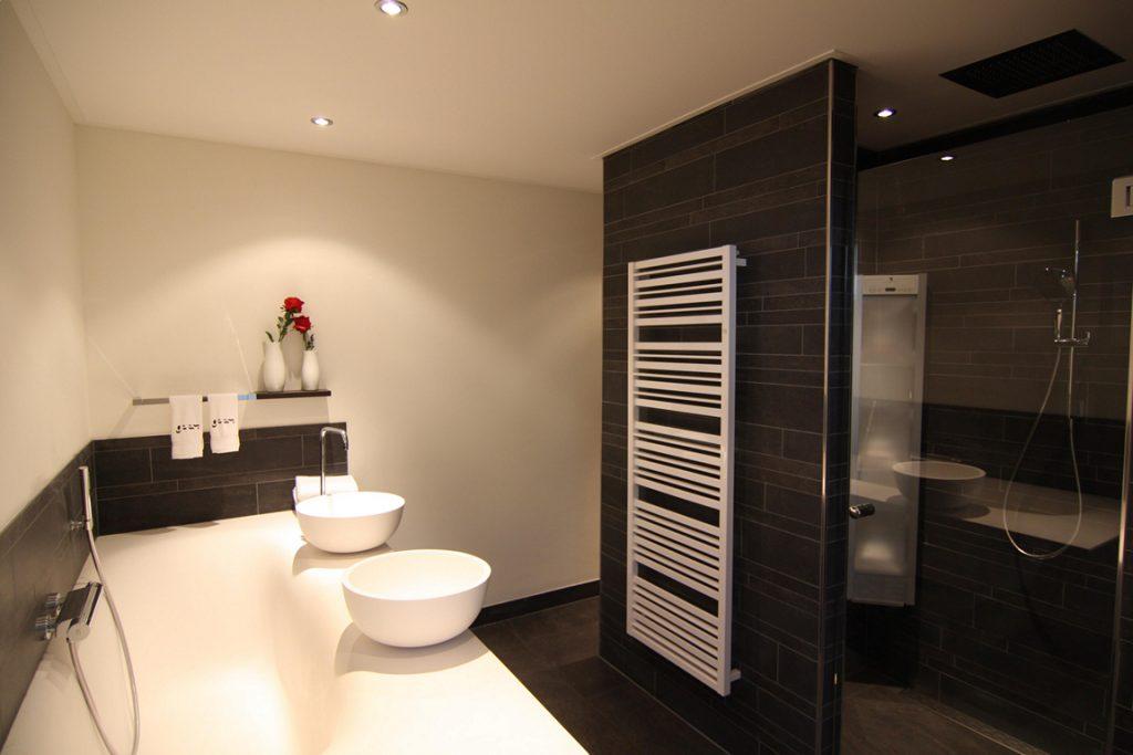 Badkamer ontwerp bouwplan bouwbedrijf