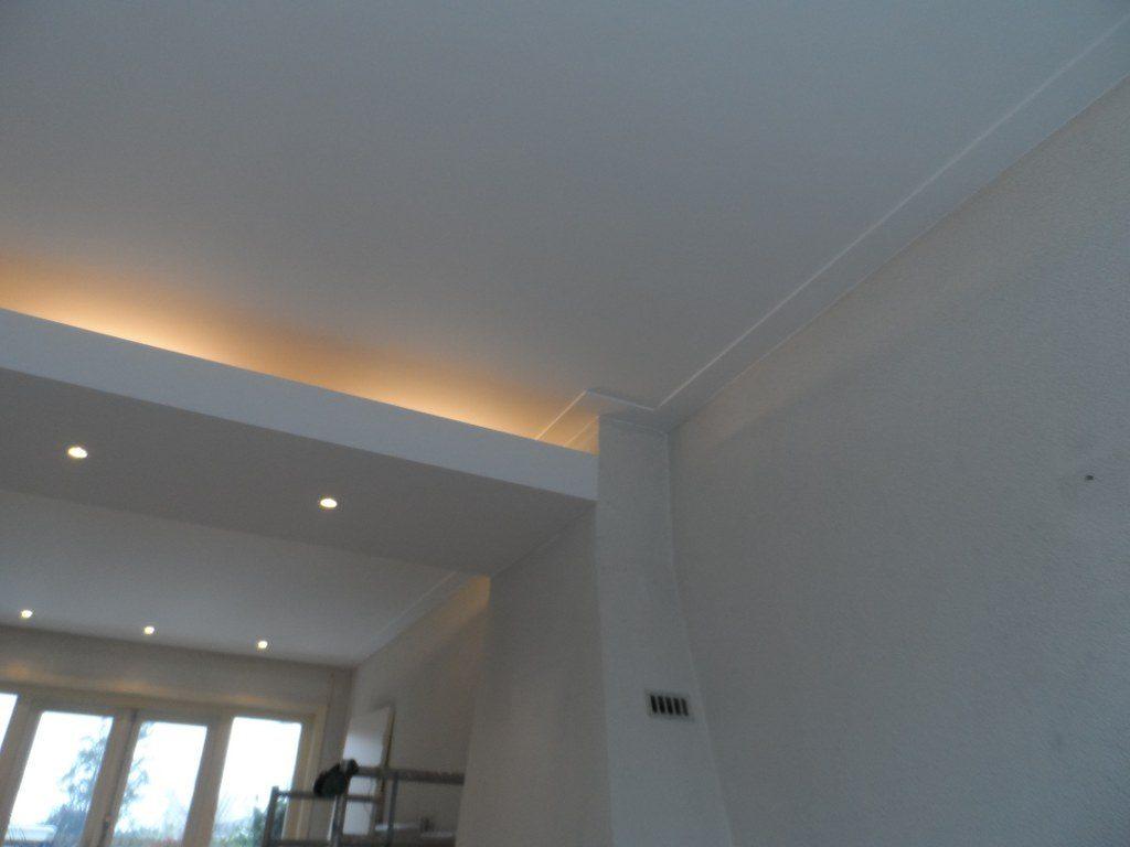 Plafond Woonkamer - Bouwplan Bouwbedrijf